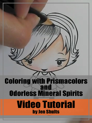 Distress Marker Watercolor Basics Video Tutorial