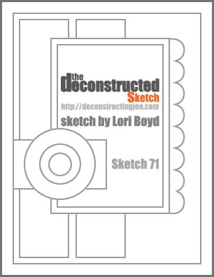 Deconstructed Sketch No. 71 ~ by Lori Boyd