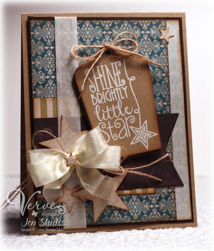Little Star by Jen Shults for Verve Stamps