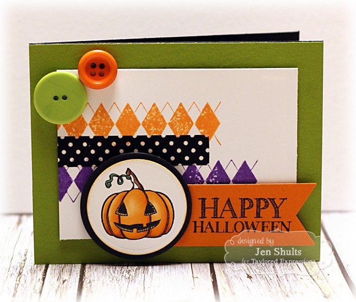 Happy Halloween! handmade card